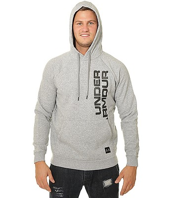 mikina Under Armour Rival Fleece Script - 036 Steel Light Heather -  snowboard-online.sk 8765ff8fe51