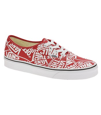 040f64276e3 topánky Vans Authentic - OTW Repeat Red True White - snowboard ...