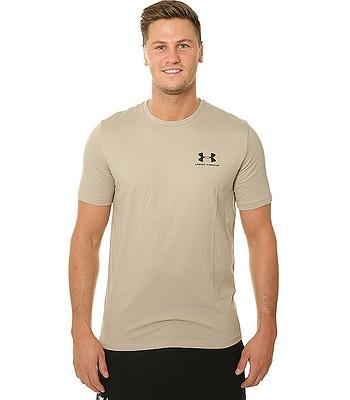 f67fe91c3e T-Shirt Under Armour Sportstyle Left Chest - 299 City Khaki - men´s -  blackcomb-shop.eu