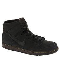boty Nike SB Zoom Dunk High Pro Deconstructed Premium - Black Black Velvet  Brown 310232d235
