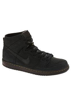 boty Nike SB Zoom Dunk High Pro Deconstructed Premium - Black Black Velvet  Brown ... a54b56f511