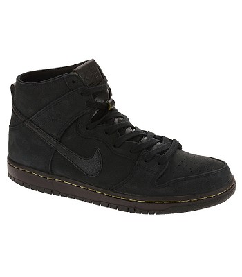 90d1db1f7a1 boty Nike SB Zoom Dunk High Pro Deconstructed Premium - Black Black Velvet  Brown Peat Moss