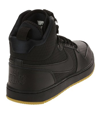 6548d0944846 shoes Nike Ebernon Mid Winter - Black Black Gum Light Brown - men´. IN STOCK