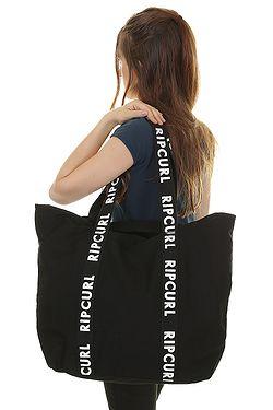 ... taška Rip Curl Standard Tote Essentials - Black White 4f014510b4