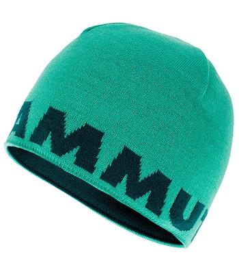 113a32e1710 čepice Mammut Logo - Teal Atoll - snowboard-online.cz