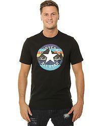 feab0f92091 tričko Converse Mountain Chuck Patch 10009064 - A02 Black