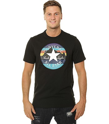 249fe73e49c6 T-Shirt Converse Mountain Chuck Patch 10009064 - A02 Black - men´s -  blackcomb-shop.eu