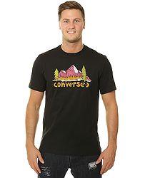 9b8c8179c0c tričko Converse Illustrated Mountain 10008997 - A02 Black