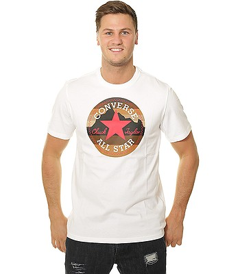9aef5b73fb441a T-Shirt Converse Mountain Chuck Patch 10009064 - A01 White - men´s -  blackcomb-shop.eu