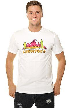 tričko Converse Illustrated Mountain 10008997 - A01 White ... dce64cd52a8