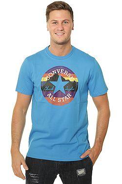 94478937530 tričko Converse Mountain Chuck Patch 10009064 - A03 Blue Hero