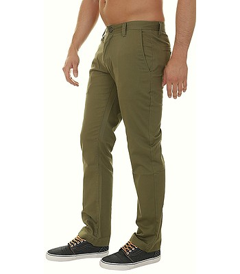 d77e0424 pants Volcom Frickin Modern Stretch Chino - Vineyard Green - men´s. In  stock ‐ by at your home
