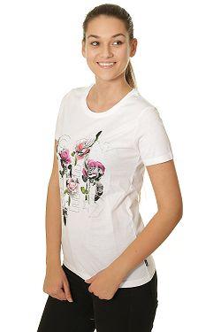 813651e73c2 tričko Converse Wordmark Floral Crew 10009025 - A01 White ...