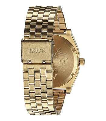 hodinky Nixon Time Teller - Gold Green Sunray  f227bc41348