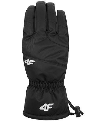 fc4b396272a rukavice 4F X4Z18-REM351 - 20S Deep Black - snowboard-online.cz