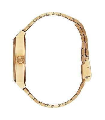 hodinky Nixon Time Teller - All Gold Blue Sunray - snowboard-online.sk 33da7e98e6a