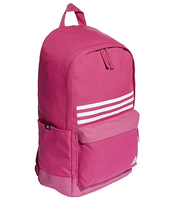 a8b9201c2ce mochila adidas Performance Classic Pocket 3 Stripes - Real Magenta Real  Magenta White - blackcomb-shop.eu
