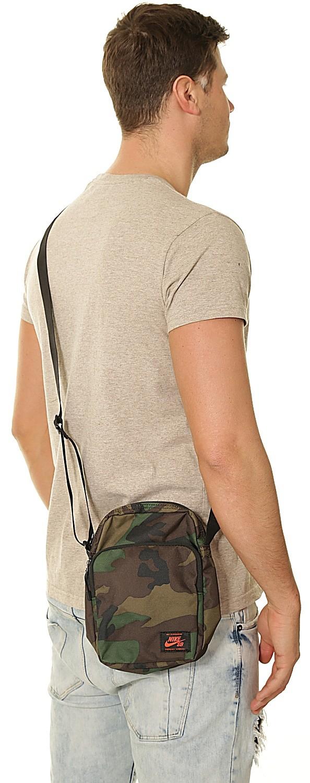 bag Nike SB Heritage Smit Aop 210IguanaBlackTeam Orange
