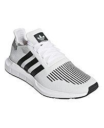 topánky adidas Originals Swift Run - White Core Black Medium Gray Heather c9f61ef3284