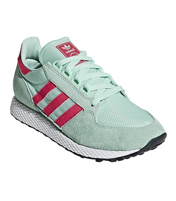 shoes adidas Originals Forest Grove - Clear Mint Active Pink Chalk White -  women´s - snowboard-online.eu 49f6b9ea23
