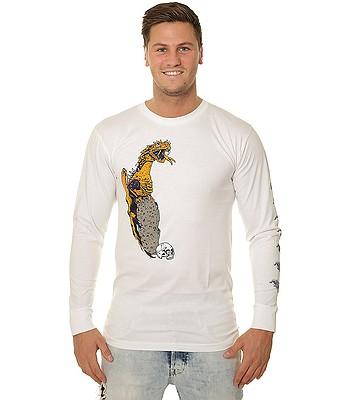 tričko Bones Dragon LS - White - snowboard-online.sk 5b1de224dcd