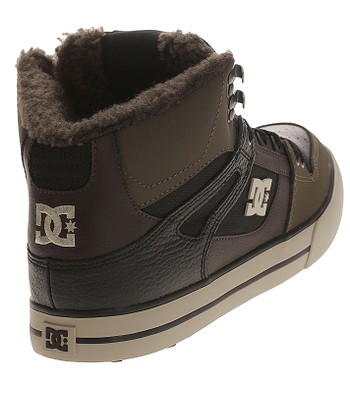 d4acbd165 topánky DC Pure High -Top WC WNT - OLV/Olive   blackcomb.sk