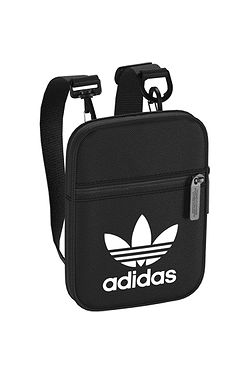 addb89500c bag adidas Originals Festival Bag Trefoil - Black White ...