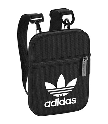 969ed82972 bag adidas Originals Festival Bag Trefoil - Black White - blackcomb-shop.eu
