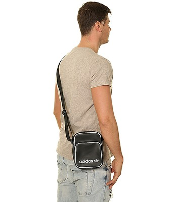 b27f58be13bd4 torba adidas Originals Mini Bag Vintage - Black - blackcomb-shop.pl