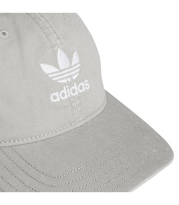 info for f6a41 efa6a cap adidas Originals Washed Adicolor Baseball - Medium Gray Heather Solid  Gray White - unisex. IN STOCK
