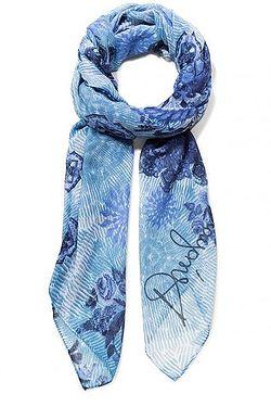 šátek Desigual 19SAWF97 Flirt - 1000 Blanco ... 100fafea89