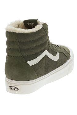 852d9faa9f2 ... boty Vans Sk8-Hi Reissue Li - Sherpa Green