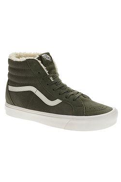 boty Vans Sk8-Hi Reissue Li - Sherpa Green ... 6362a1608d