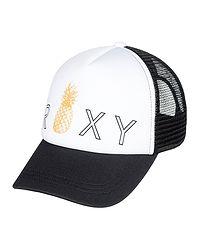 dětská kšiltovka Roxy Reggae Town Trucker Youth - KVJ0 True Black 988138b3577