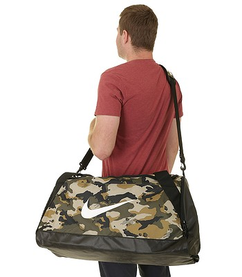 Stany Zjednoczone najtańszy Gdzie mogę kupić torba Nike Brasilia Medium - 209/Neutral Olive/Black/White ...