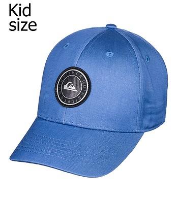 dětská kšiltovka Quiksilver Decades Plus Snapback Child - BNG0 Bijou Blue 484dfe0e1f
