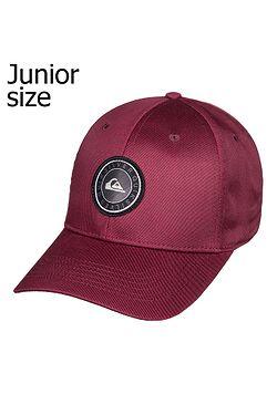 dětská kšiltovka Quiksilver Decades Plus Snapback Youth - RQN0 Brick Red 3257d100c7