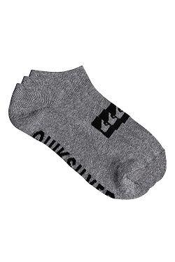 socks Quiksilver Ankle 3 Pack - SGRH/Light Gray Heather - men´s