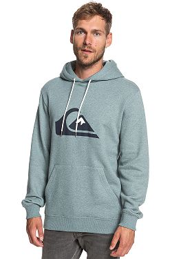 mikina Quiksilver Big Logo Hood - BLHH Stormy Sea Heather 8454a2fe107