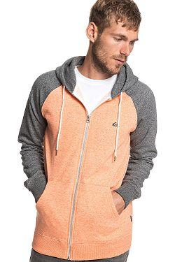 sweatshirt Quiksilver Everyday Zip - XNSS/Flamingo Heather/Dark Gray Heather - men´s