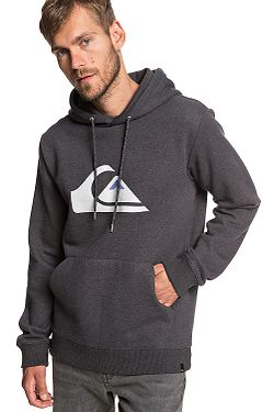 mikina Quiksilver Big Logo Hood - KRPH Dark Gray Heather 2acd56f8e99