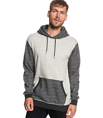 mikina Quiksilver Global Grasp Hood - KRPH Dark Gray Heather ... 9c50c0e2bd2