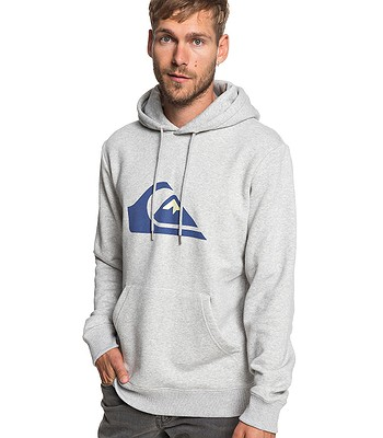 mikina Quiksilver Big Logo Hood - SJSH Light Gray Heather ... b2ae4abcf44