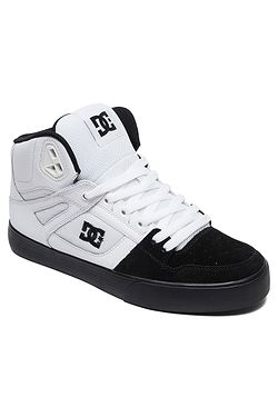 f13eb1b1f60b8 topánky DC Pure High -Top WC - WBK/White/Black ...