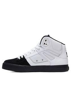 43508a475fb ... boty DC Pure High -Top WC - WBK White Black