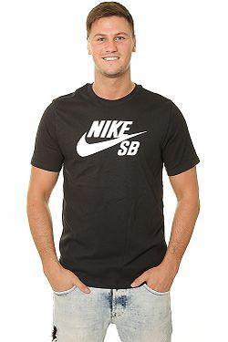 tričko Nike SB Dri Fit Logo - 010 Black White ... dd8691a551