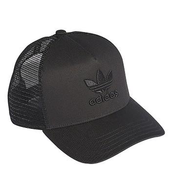 e5d2669ddc4 cap adidas Originals Aframe Trefoil Trucker - Black Black - men´s ...