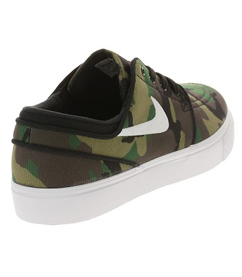 great look official shop limited guantity shoes Nike SB Zoom Stefan Janoski Canvas - Multi Color/White ...