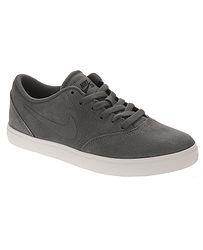 dětské boty Nike SB Check Suede GS - Dark Gray Dark Gray Black  cac019c08b2