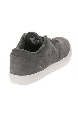db92a2ab90 ... dětské boty Nike SB Check Suede GS - Dark Gray Dark Gray Black